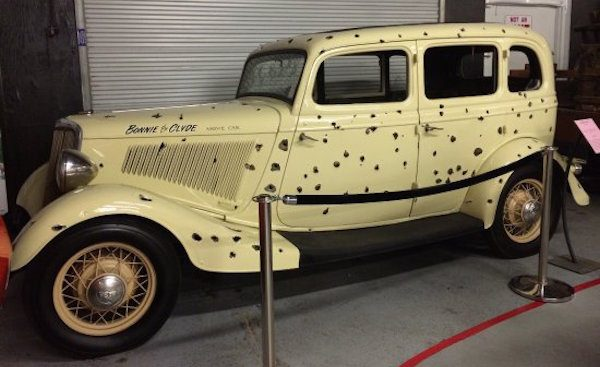 Bonnie And Clyde Car Location: 13 Things To Do In Las Vegas Before You Diecast