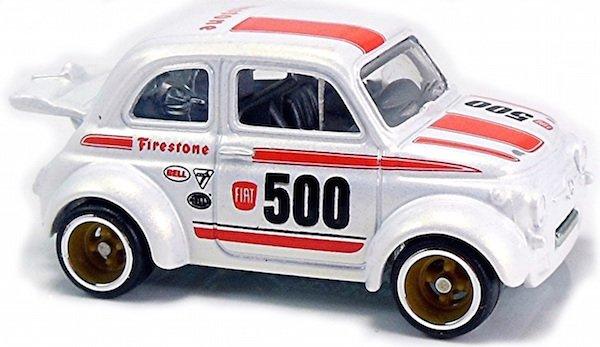 Hot Wheels Fiat