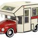"""Schuco VW Beetle """"Lil Bugger"""" Camper Van"""