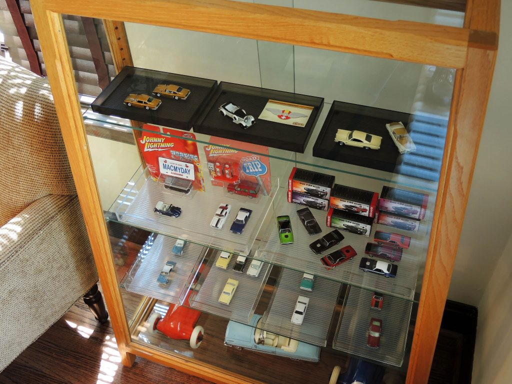 One of Mac Ragan's Display Cabinets