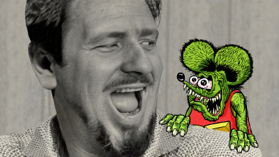 "Ed ""Big Daddy"" Roth and Rat Fink"